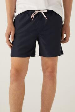 Springfield Plain colour swimming shorts blue