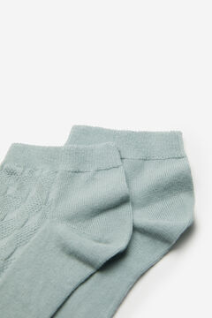 Springfield Textured socks green