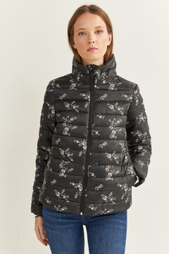 Springfield Lightweight Printed Jacket black