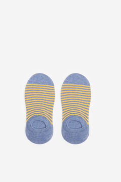 Springfield Jacquard no-show socks color