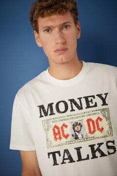Springfield AC/DC T-shirt ecru