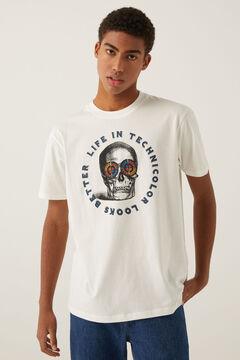 Springfield T-shirt caveira cru