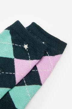 Springfield Diamond Socks mallow