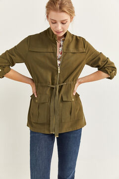 Springfield Floaty Safari Jacket oil
