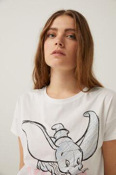 """Springfield """"Dumbo"""" t-shirt white"""