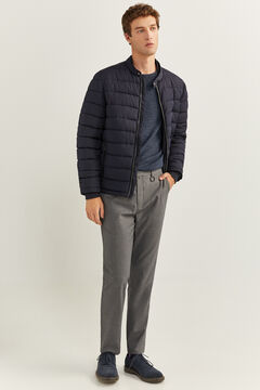 Springfield WATER-REPELLENT JACKET WITH DUPONT™ SORONA® KEEP IT WARM PADDING blue