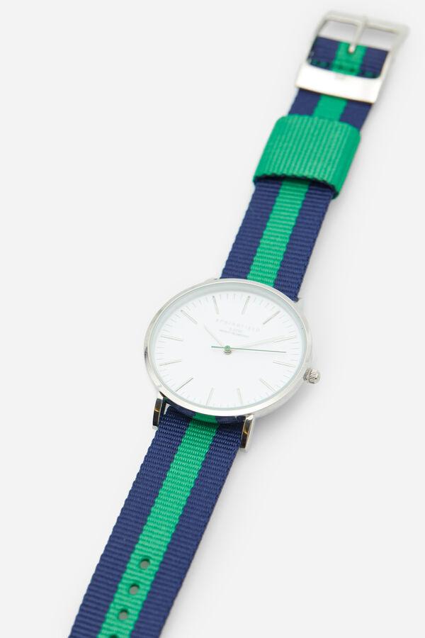 f2d951a81556 Springfield Reloj clásico con correa reversible verde