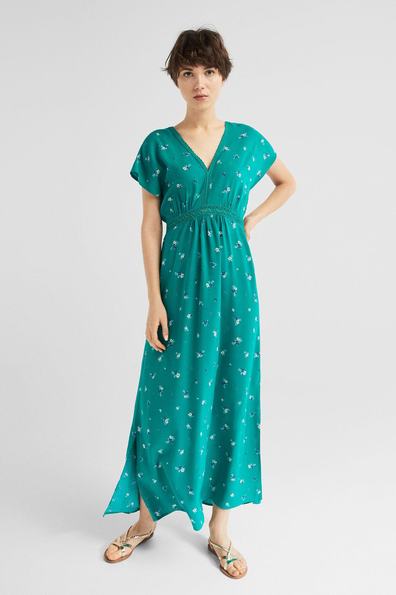 Vestidos formales verde agua
