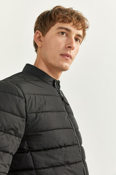 Springfield WATER-REPELLENT JACKET WITH DUPONT™ SORONA® KEEP IT WARM PADDING black