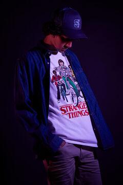 Springfield Stranger Things T-shirt ecru