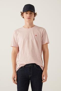 Springfield T-shirt microriscas rosa