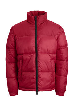 Springfield HIgh neck padded jacket rouge