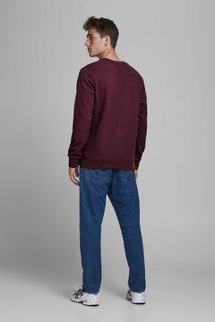 Springfield Essential crew neck sweatshirt purple