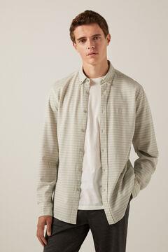 Springfield Lightweight striped shirt gray