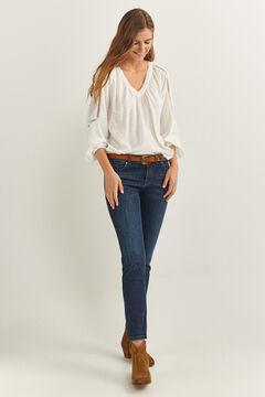 Springfield Plumetis blouse medium beige