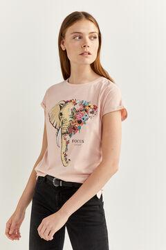 Springfield T-Shirt Grafik rot