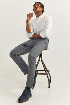 Springfield TEXTURED TWO-TONE DAILY SMART CHINOS blue
