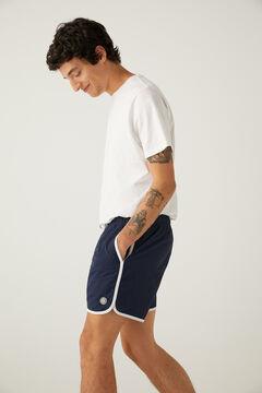 Springfield Rocky style nylon swimming shorts bluish
