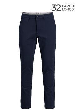 Springfield Pantalón chino Marco slim fit marino