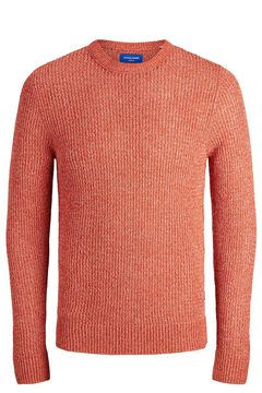 Springfield Sustainable textured jumper red