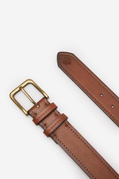 Springfield Faux leather cowboy belt brown