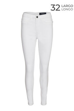 Springfield Skinny jeans white