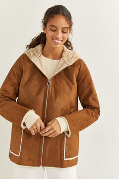Springfield Double-Faced Hooded Coat camel