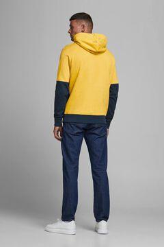 Springfield Sustainable jersey-knit sweatshirt banana