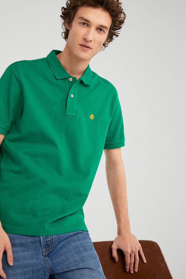 df128babed Springfield Essential polo shirt green
