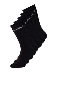 Springfield 5-pack sustainable socks black