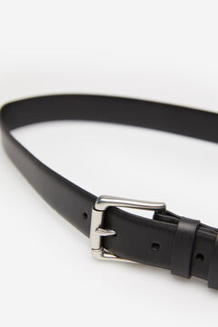 Springfield Reversible leather belt black