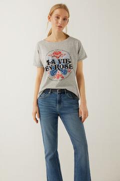 Springfield La Vie en Rose t-shirt grey