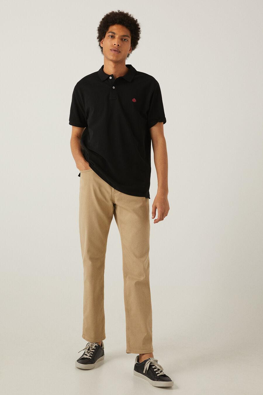 Pantalon 5 poches lavé