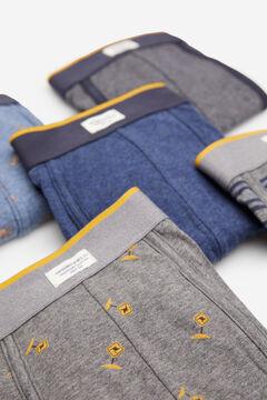 Springfield 5-pack kangaroo boxers blue