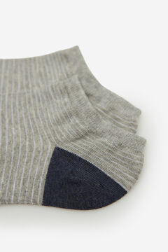 Springfield Striped ankle socks green