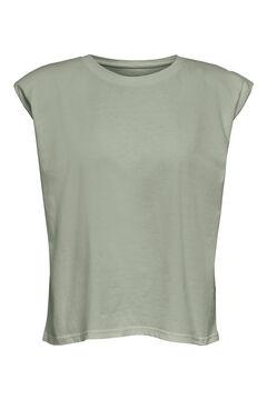 Springfield Shoulder pads t-shirt gray