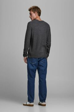 Springfield Plain organic cotton jumper bluish