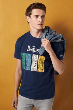 Springfield The Beatles T-shirt bluish