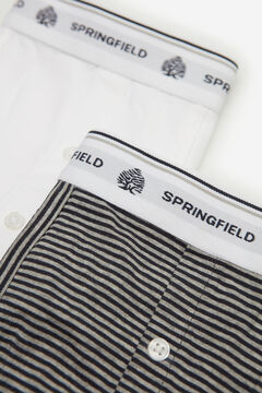 Springfield 2-PACK ESSENTIALS BOXERS white