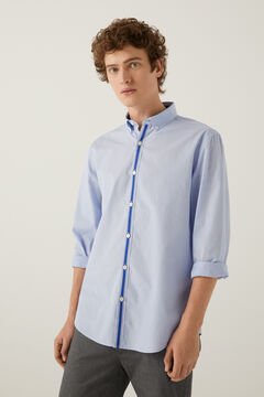 Springfield Placket shirt blue