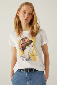 Springfield Bow girl t-shirt white