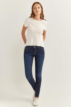 Springfield Pantalon Denim Slim blau