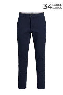 Springfield Marco slim fit chinos  navy