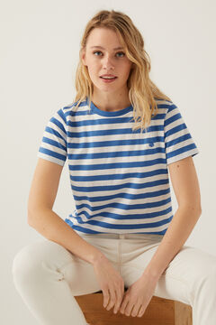 Springfield Organic cotton t-shirt blue