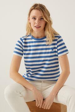 Springfield T-shirt coton biologique blau