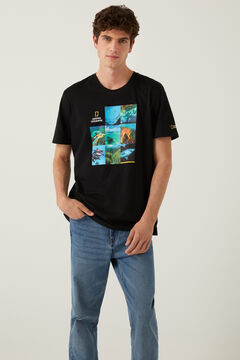 Springfield National Geographic t-shirt black