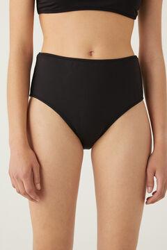 Springfield High waist bikini bottoms black