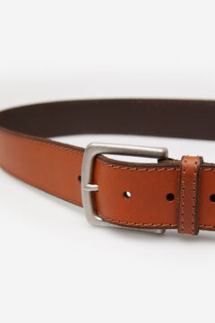 Springfield Leather cowboy belt brown
