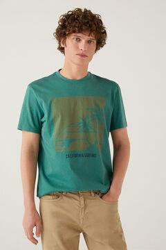 Springfield T-shirt beach vert