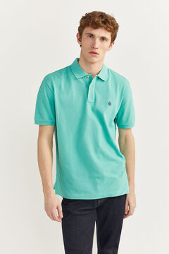 Springfield ESSENTIAL PIQUE POLO SHIRT green